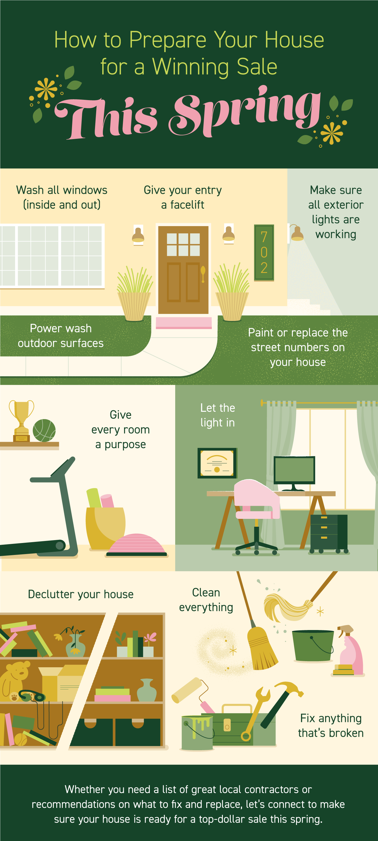 How to Prepare Your House for a Winning Sale This Spring [INFOGRAPHIC] | Simplifying The Market